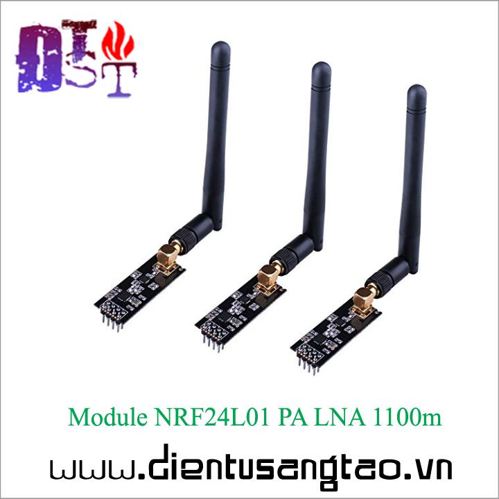 Module NRF24L01 PA LNA 1100m + Anten 2