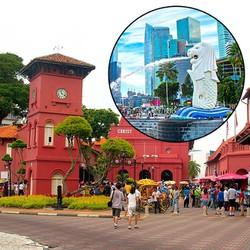 Tour Du Lịch Singapore - Malaysia 6N5Đ  Vé Bay Khứ Hồi