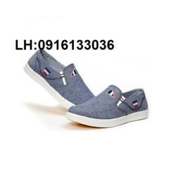 Giày Vải Nam Đơn Giản Mà Rẽ