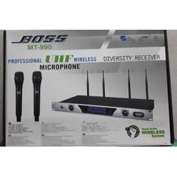 MIC không dây MT - 990 boss 4 4 sóng chuẩn