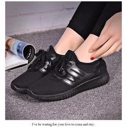 Giày thể thao nữ đỏ, đen đủ size