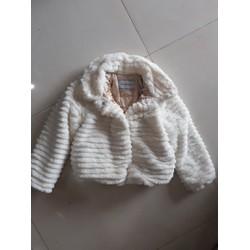 Áo lông trắng cho bé siêu mịn xuất khẩu