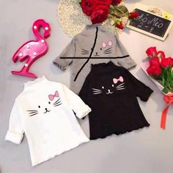 áo len con mèo