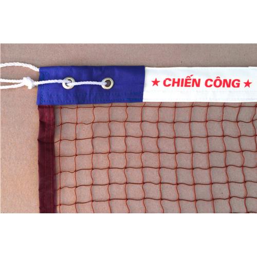 Lưới cầu lông cao cấp 4 viền da Chiến Công thi đấu tập luyện