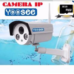 Camera yoosee lắp ngoài trời thông minh + Tặng kèm thẻ nhớ 8Gb