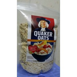 Yến mạch Quaker Oats Old Fashioned 1kg nhập từ Mỹ