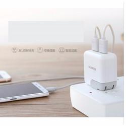 Cục Sạc Romoss 2 Cổng 1A và 2A Cho Điện Thoại Smart Phone- I Pad
