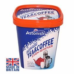 Chất tẩy rửa cặn trà, cà phê, vệ sinh lồng máy giặt Astonish Anh Quốc