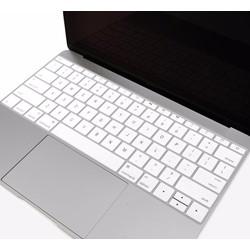 Miếng lót bàn phím in chữ Skin Keyboard Macbook Retina 12 Inch Trắng