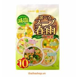 Miến ăn liền rau củ quả Hikari-Miso Nhật Bản 10 phần Gói