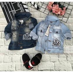 áo khoát jean siêu kute, siêu bụi, dành cho cả bé trai và bé gái