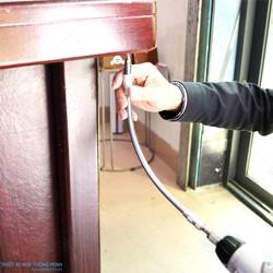 Thanh chuyển hướng tô vít kéo dài inoc cao cấp 30cm
