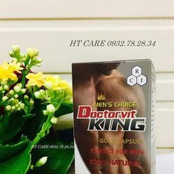 Tăng cường sinh lý nam Doctorvit King - Mỹ
