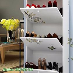 Tủ giầy-Tủ giầy gỗ cao cấp