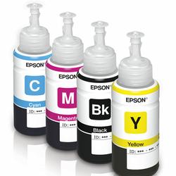 Mực in Epson T6641-42-43-44 dùng cho máy in Epson L100,L110,L200,L350