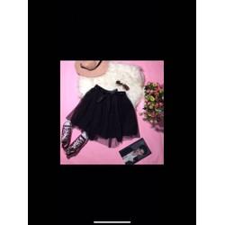 Chân váy xoè công chúa ngắn