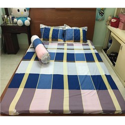ga giường cotton - ga giường cotton