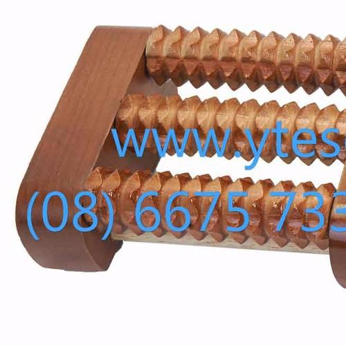 Bàn lăn gỗ massage chân 4 hàng