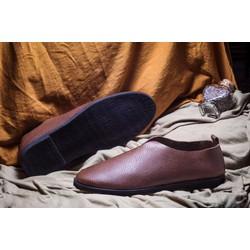 Giày lười nam đẹp màu nâu #20N