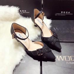 Giày sandal cao gót nữ mới nhất