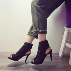 Giày bốt cao gót sang chảnh