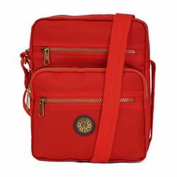 Túi đeo thời trang nhiều ngăn tiện dụng - Màu đỏ