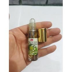 1 chai dầu gió Thái Lan dạng bi lăn hương chanh