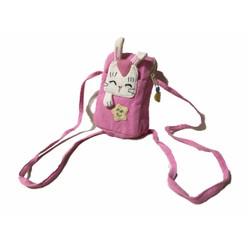 HÀNG VIỆT NAM - Túi vải có dây đeo chéo hình thỏ đáng yêu cho bé