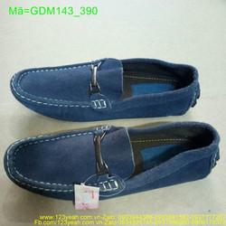 Giày mọi nam khóa sắt ngang phong cách GDM143