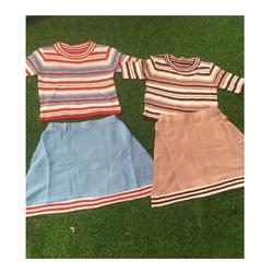 áo len + váy