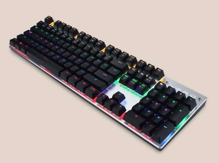Bàn phím cơ Zero X08B Led Rainbow 7