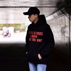 Áo hoodie nam thời trang, phong cách nam tính
