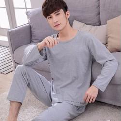 Bộ mặc nhà nam dài tay chất cotton - giá 330k -Y464