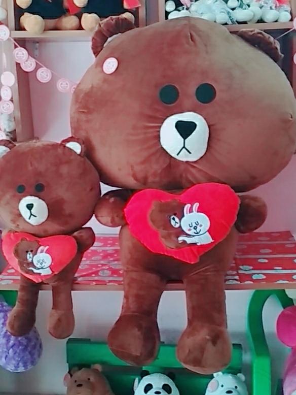 Gấu Brown Ôm Trái Tim Love- Size 1m2 2