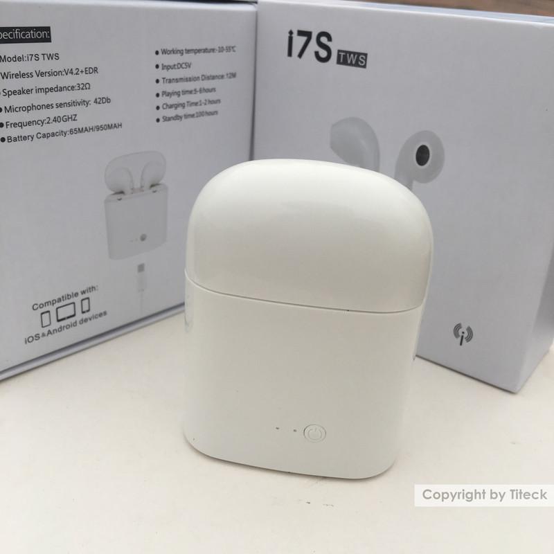 Tai nghe Bluetooth Earpods  i7S 7