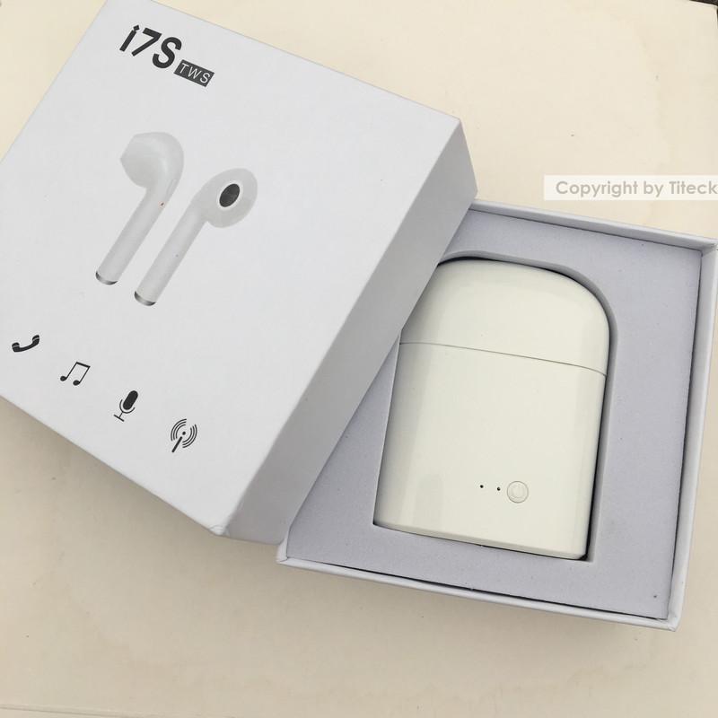 Tai nghe Bluetooth Earpods  i7S 9