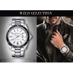 Đồng hồ nam phong cách mạnh mẽ .