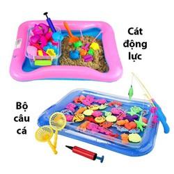 Bộ đồ chơi Cát động lực và Bộ đồ chơi câu cá nam châm