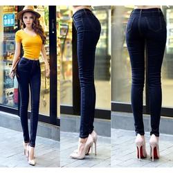 Quần jeans nữ chất liệu jean giấy co giãn ôm dáng cực đẹp cho các nàng