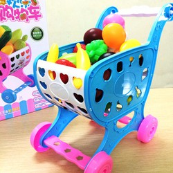 Bộ đồ chơi xe đẩy siêu thị cho bé - DCXDSTCB001-Z