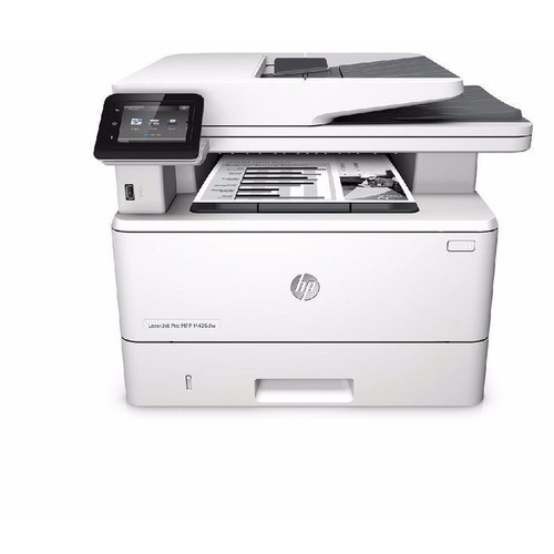 Máy in hp m426fdw - in 2 mặt, wifi, scan,copy,fax, wifi