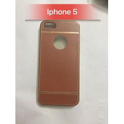 Ốp Lưng giả da cho Iphone 5