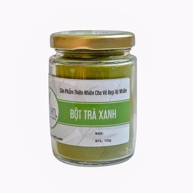 Bột trà xanh nguyên chất Bảo Nam 100g - bottraxanh