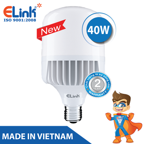 Bóng Đèn LED LED Trụ - Bulb Cao Cấp Elink 40W - AS Trắng - 7832563 , 8058486 , 15_8058486 , 225500 , Bong-Den-LED-LED-Tru-Bulb-Cao-Cap-Elink-40W-AS-Trang-15_8058486 , sendo.vn , Bóng Đèn LED LED Trụ - Bulb Cao Cấp Elink 40W - AS Trắng