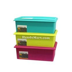 Bộ 3 thùng nhựa cao cấp Standard size M
