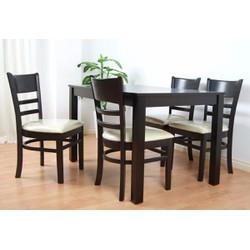 bàn ghế nhà hàng gỗ thông