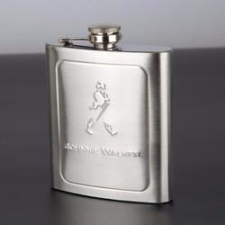 Bình đựng inox mini dung tích 200ml dập nổi Johnnie Walker