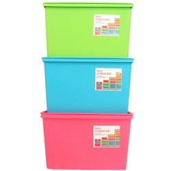 Bộ 3 thùng nhựa cao cấp Standard size L