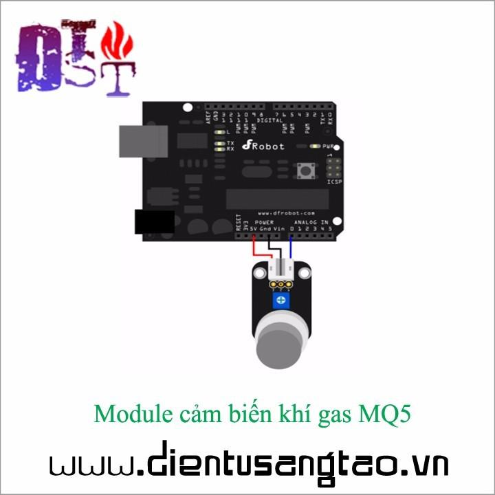 Module cảm biến khí gas MQ5 2