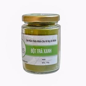 Bột trà xanh phục hồi làn da cháy nắng 100g - bottraxanhaf